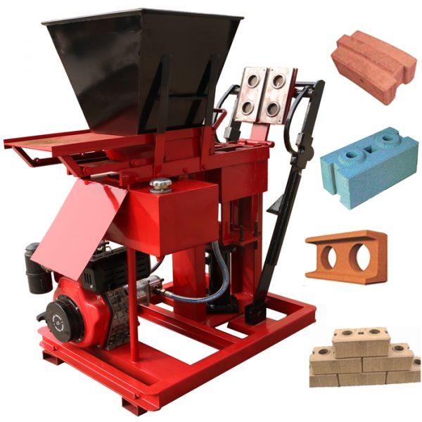 soil interlock brick machine
