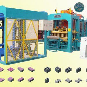 Hydraulic Automatic Concrete Bricks Machine for sales